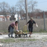 Community Garden Site Cleanup